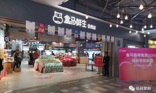Offline supermarkets