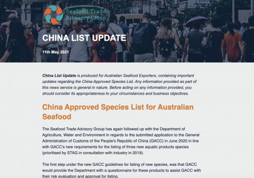 China Market Access News